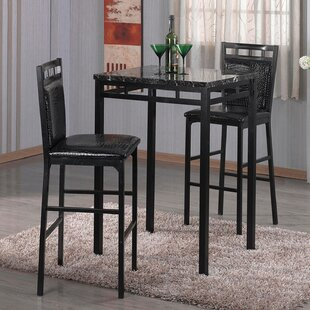 Emmett 3 Piece Pub Table Set