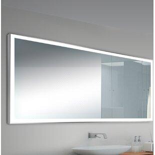 Alcron Modern  Contemporary Lighted Bathroom Mirror