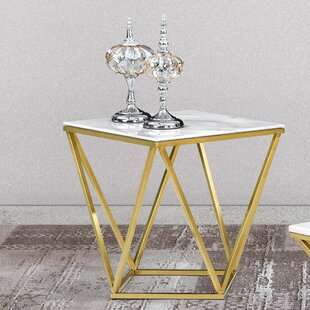 Willa Arlo Interiors Robeson Marble End T..