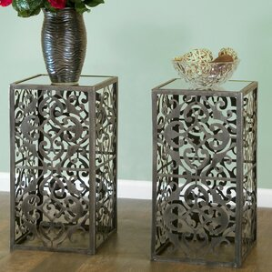 Abrielle End Table (Set of 2) by Glamour Hom..