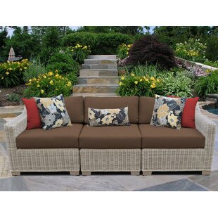 Coast Patio Sofa with Cushions by TK Classics