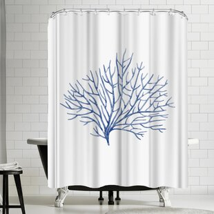 Nauda Coral Shower Curtain