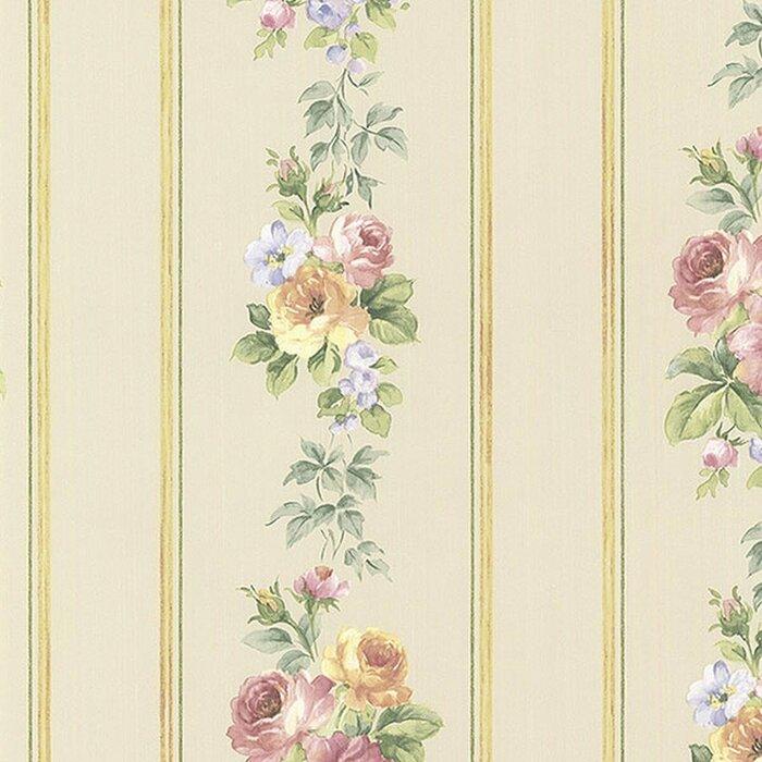 Larosa 33 L X 21 W Floral And Botanical Wallpaper Roll
