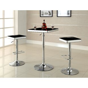 Roundhill Furniture Adjustable Height Swi..