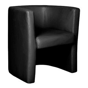 Hoboken Leather Faced Tub Chair By Brayden Studio