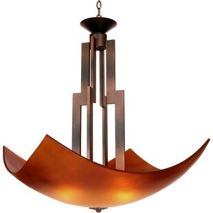 Van Teal On A Roll 3-Light Bowl Pendant