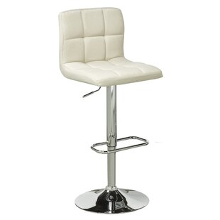 Elmira Adjustable Height Swivel Bar Stool (Set of 2)