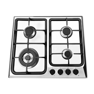 24 Gas Cooktop with 4 Burners
