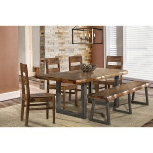 Bench Kitchen Dining Room Sets Youll Love Wayfair - Wayfair dining table with bench