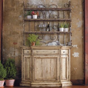 Wakefield China Cabinet with Hutch by Hooker Furniture