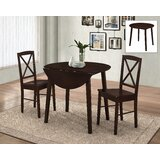 Wiley 3 Piece Drop Leaf Dining Set by Andover Mills™