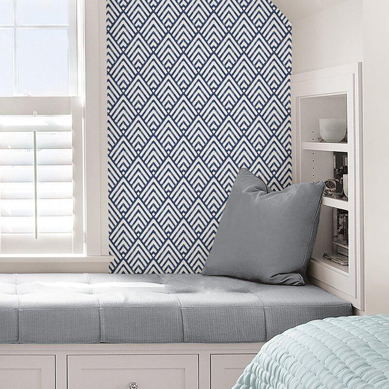 Wallpops Nu 18 X 20 5 Quot Arrowhead Deep Blue Wallpaper