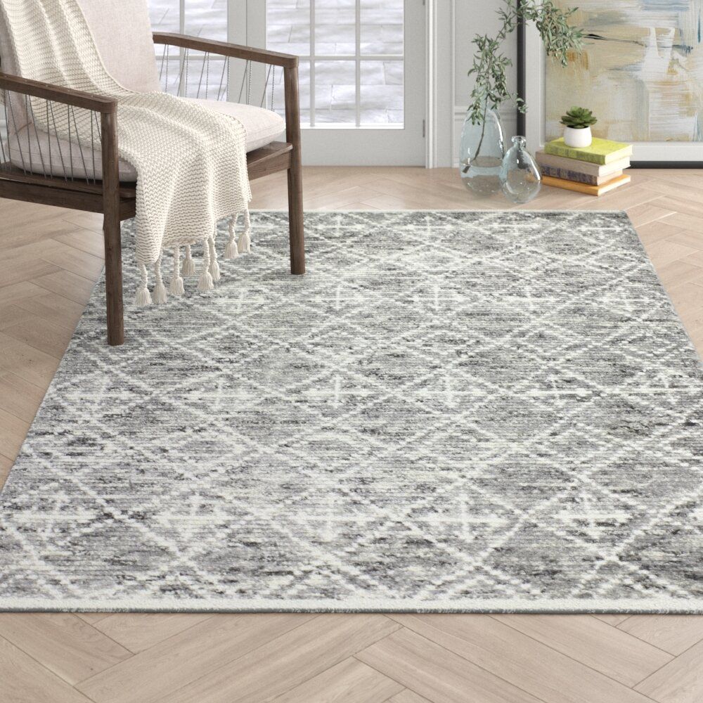 Arthur Handmade Knotted Wool Gray Ivory Area Rug Reviews Joss Main