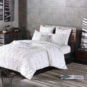 masie 3 piece duvet cover set - White Duvet Cover Queen
