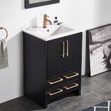 Angla 23.62 Single Bathroom Vanity Set by Ebern Designs
