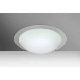 Besa Lighting Ring LED Outdoor Flush Mount