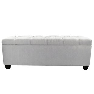 Darby Home Co Erik Wood Storage Bench