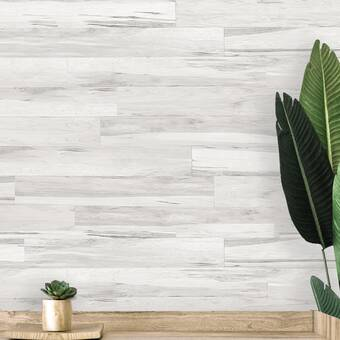 E Joy 5 X 47 Reclaimed Peel And Stick Engineered Wood Wall Paneling Reviews Wayfair