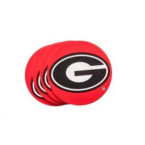 NCAA PVC Coaster (Set of 4)