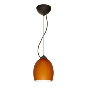 Besa Lighting Lucia 1-Light Cone Pendant