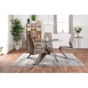 Fazio Dining Set With 4 Chairs By Metro Lane