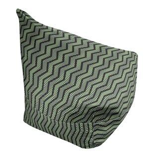 Wavy Chevrons Bean Bag Cover by East Urban Home SKU:EC337021 Shop