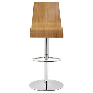Paddock Wood Swivel Adjustable Bar Stool By Metro Lane