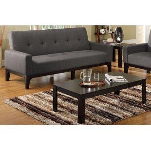 Wansley Futon Convertible Sofa by Latitude Run