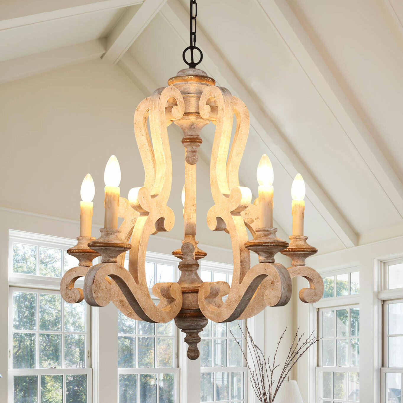 French Country Chandeliers You Ll Love In 2020 Wayfair