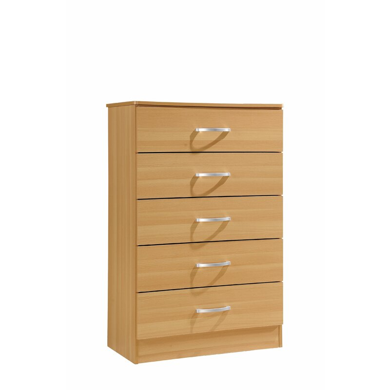 Andover Mills Chester 5 Drawer Chest Wayfair