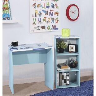 Jaoquim 2-Piece Standard Desk Office Suite By Ebern Designs