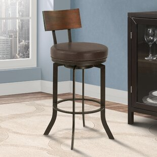 Justina 26 Swivel Bar Stool 17 Stories