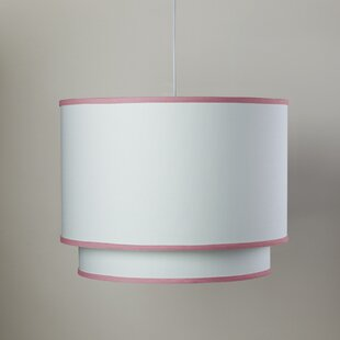 Oilo White 3-Light Double Cylinder Pendant