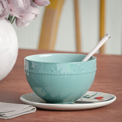 Genesee 30 oz. Utility Bowls Lark Manor Color: Aqua