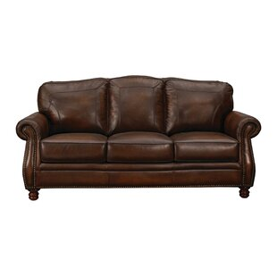 Read Reviews Drumaduan Leather Sofa by Canora Grey Reviews (2019) & Buyer's Guide