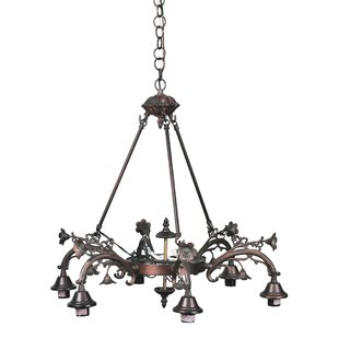 Meyda Tiffany Victorian 8-Light Chandelier