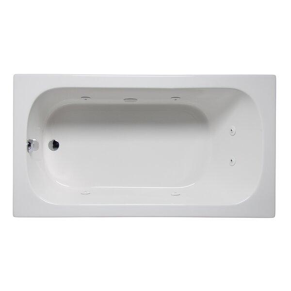 Americh Miro 66 X 32 Drop In Undermount Whirlpool Bathtub Wayfair