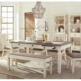 Alsace 6 Piece Dining Set by Lark Manor