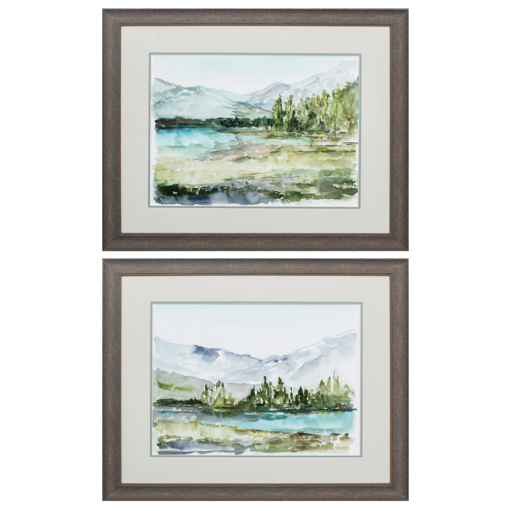 Framed Lakes Rivers Wall Art You Ll Love In 2021 Wayfair