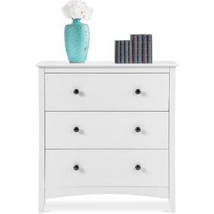 Boddie 3 Drawer Bedside Table By Brambly Cottage