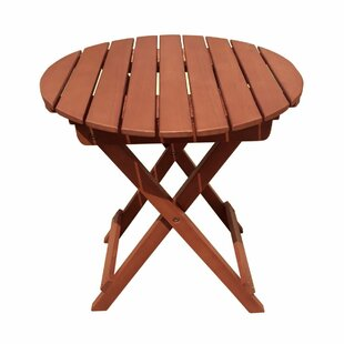Sydney Folding Solid Wood Side Table By Sol 72 Outdoor