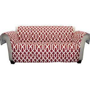 Caledonia Box Cushion Loveseat Slipcover by Alcott Hill