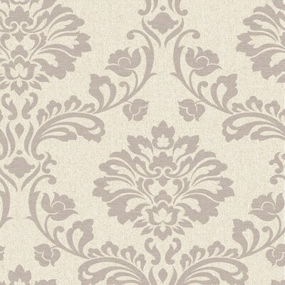 Graham Brown Aurora Regal 33 X 20 Damask 3d Embossed