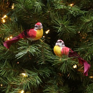 Bird Ornaments Set  Wayfair