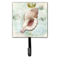 Shells Leash Holder and Wall Hook by Caroline's Treasures