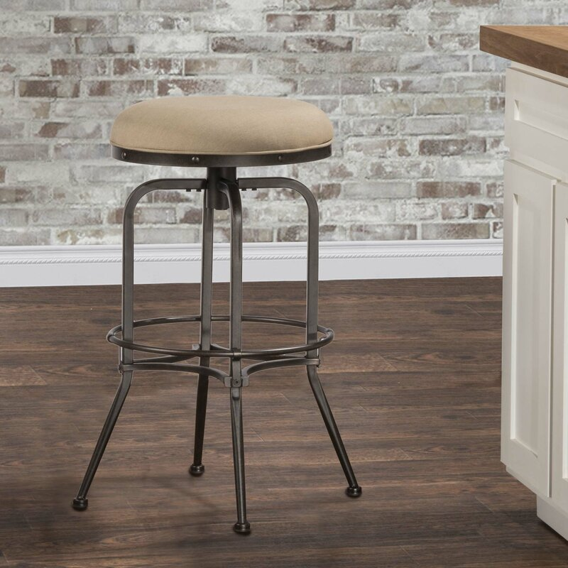Stories Nicolao Swivel IndoorOutdoor Bar Stool Reviews - Swivel patio bar stools