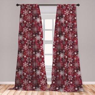 Maroon Curtains Wayfair