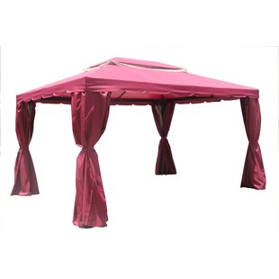 Direct Wicker Bergamo 10 Ft. W x 10 Ft. D Steel Patio Gazebo