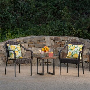 Goldendale 3 Piece Rattan Conversation Set
