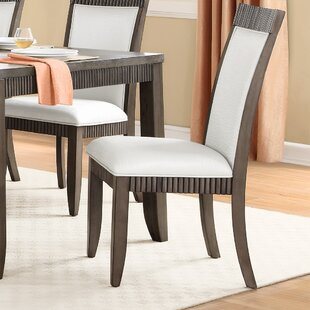 Cabery Upholstered Dining Chair (Set of 2) Alcott Hill